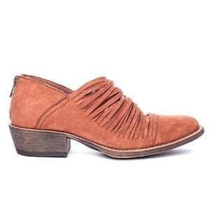 Coconuts by Matisse Rust Meade Ankle Booties